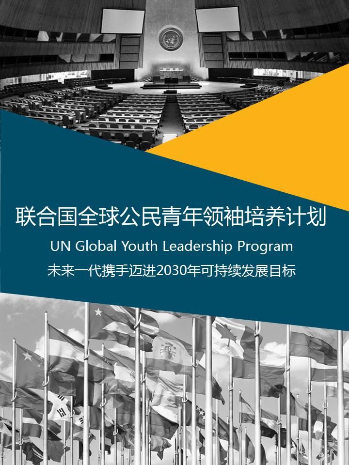 联合国全球公民青年领袖培养计划