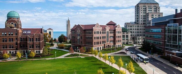 非常春藤名校之一芝加哥大学